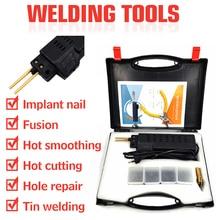 Plastic Welder Staple Bumper-Fairing Repair-System Welding-Gun Auto-Body-Tool