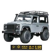 Maßstab 1:12 MN Modell RTR Version WPL RC Auto 2,4G 4WD MN99S MN99-S RC Rock Crawler D90 Defender Pickup fernbedienung Lkw Spielzeug