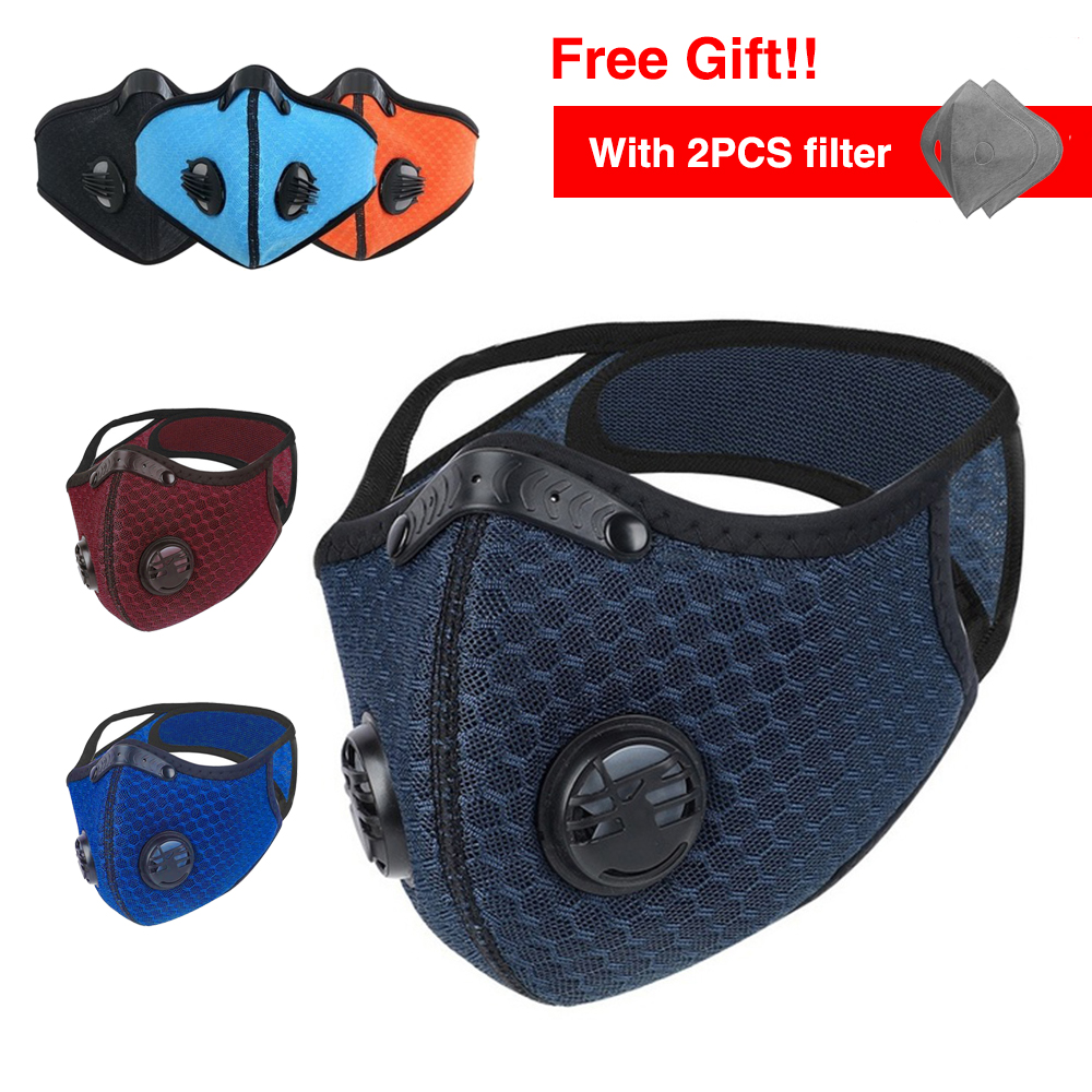 Masque Fpp2 Anti Dust Mask Face Protective 4 Layers Prevent PM2.5 Mouth Respirator Mask With Filter Fpp3mask Fpp3 Face Mask