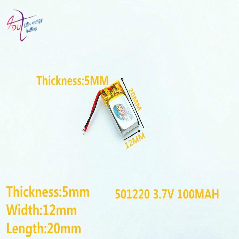 Liter Energy Battery Bluetooth Headset  Wep200 Wep210 Wep301 501220 051220 100mAH 3d Glasses