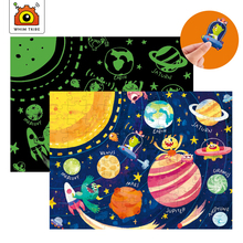 Noctilucent childrens early education puzzle learning toy intellectual development Paper educational kids gifts >3 years old
