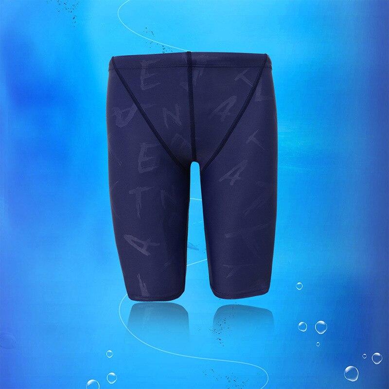Banfi New Style Anti-Spillage In Leg Competition MEN'S Swimming Trunks Men's Bathing Suit Short Swimming Trunks Athletic Swimmin