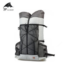 3F UL Gear Tutor 26L 38L Ultralight Ransel Outdoo Camping Hiking Ransel Tahan Air Uhmwpe Tas Tanpa Bingkai Paket(China)