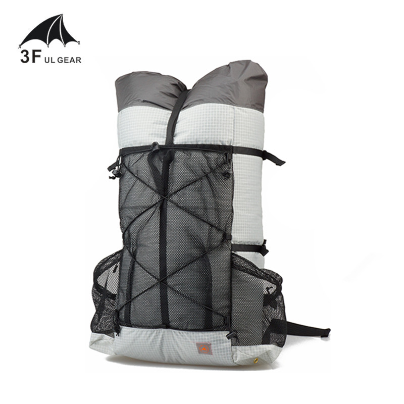 3F UL GEAR TUTOR 26L 38L Ultralight Backpack Outdoo Camping Hiking Waterproof Backpack UHMWPE Bags Frameless Packs title=