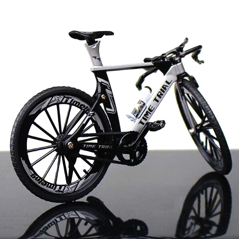 1:10 Scale Metal Diecast Mountain Bicycle Model Toys Curved Racing Cycle Cross Bike Replica Collection F Children Kids Fans Gift