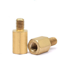 M5XL+7mm Hex Brass Male Female Standoff Stud Pillar Mount PCB Threaded Hexagon Motherboard Spacer Hollow Column Bolt Screw