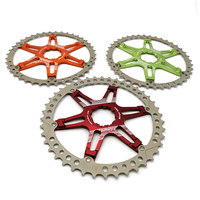 FOURIERS CR DX008 SK2 Bicycle Chainring MTB Mountain Bike Freewheel Cassette for Shimano 10 Speed Bicycle Parts