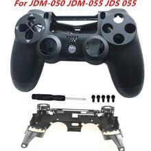 For Sony Playstation 4 Pro JDM 050 JDM 055 JDS 050 JDS 055 Frame Stand of L1 R1 Key Holder Front Back Housing Shell Case Replace