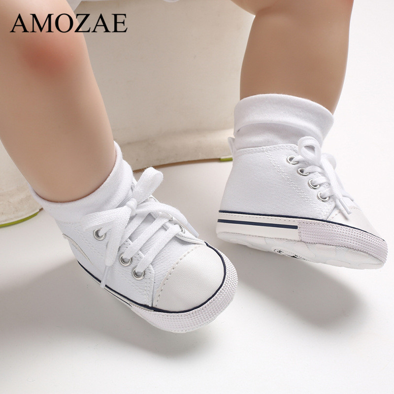 2019 New Arrival Baby Boys Girls Shoes Canvas Print First Walker Infant Toddler Anti-Slip Prewalker Indoor Shoe For Dropshipping