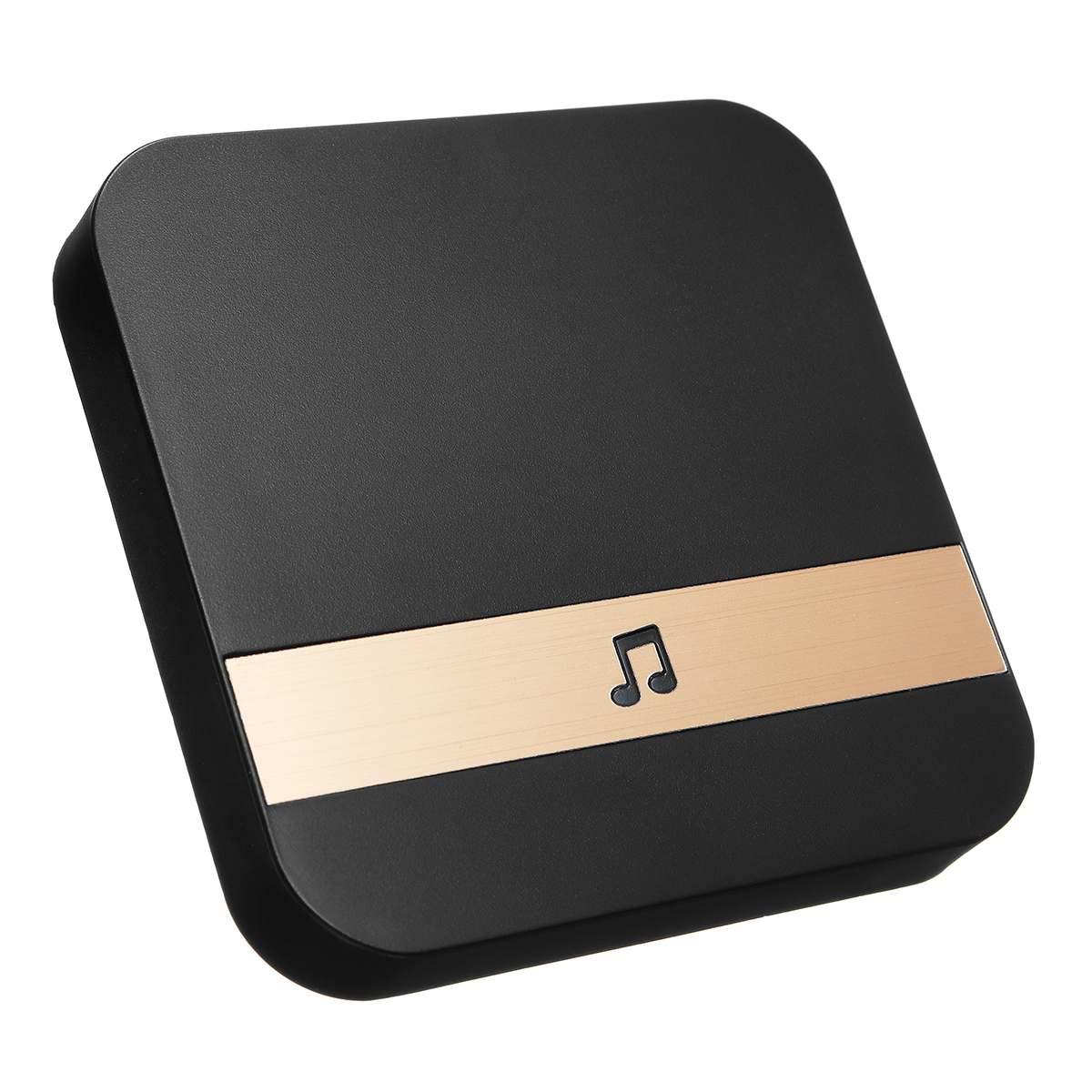 433MHz Wireless Wifi Smart Video Doorbell  Chime Music Receiver Home Security Indoor Intercom Door Bell Receiver 10-110dB Sounds