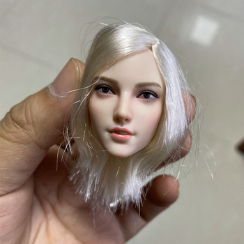 1/6 Scale Feamle Head Sculpt Sexy Female Hunter Head Carving For 12