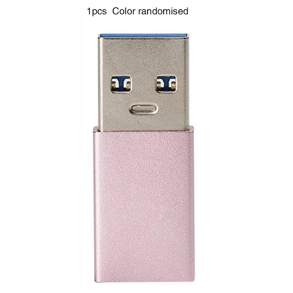 Usb3.1 Type C Female to Usb3.0 Male Connector Usb-c Female Conversion Usb3.0 Male Durable Small Portable
