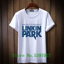 2020 New printed LINKIN PARK totem tshirt fashion Men T shirt casual Short Sleeve t-shirt Hipster Fractal Pattern tees Cool Tops(China)