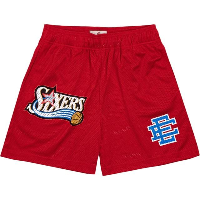 New summer Men Shorts Gym Men Sports Athletic Running Sport Fitness Beach Basketball Jogging Man Loose Short Pants large size 1
