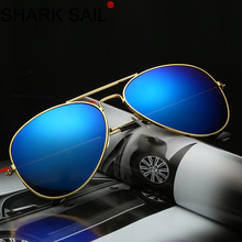 SHARK SAIL 2019 Classic Colorful Sunglasses 3025 Metal Frame Sunglasses