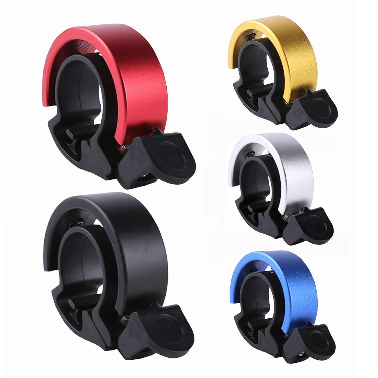 Bike Bicycle Cycling Aluminium Bell Ring Alarm 90db Loud Safety Handlebar Horn