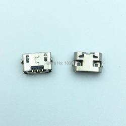 50 pçs micro usb 5pin dip2 mini conector porta de carregamento móvel para huawei y5 ii CUN-L01 mini mediapad m3 lite p2600 BAH-W09/al00