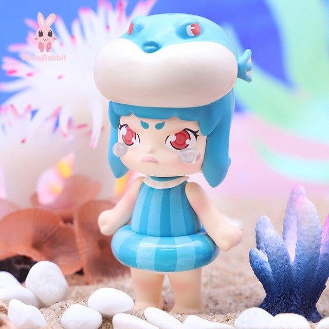 Blind Box Toys VINA Deep Sea Romance Blind Box Guess Bag Caja Ciega Blind Bag Toys Anime Figures Cute Gift Model Sea Animals 1
