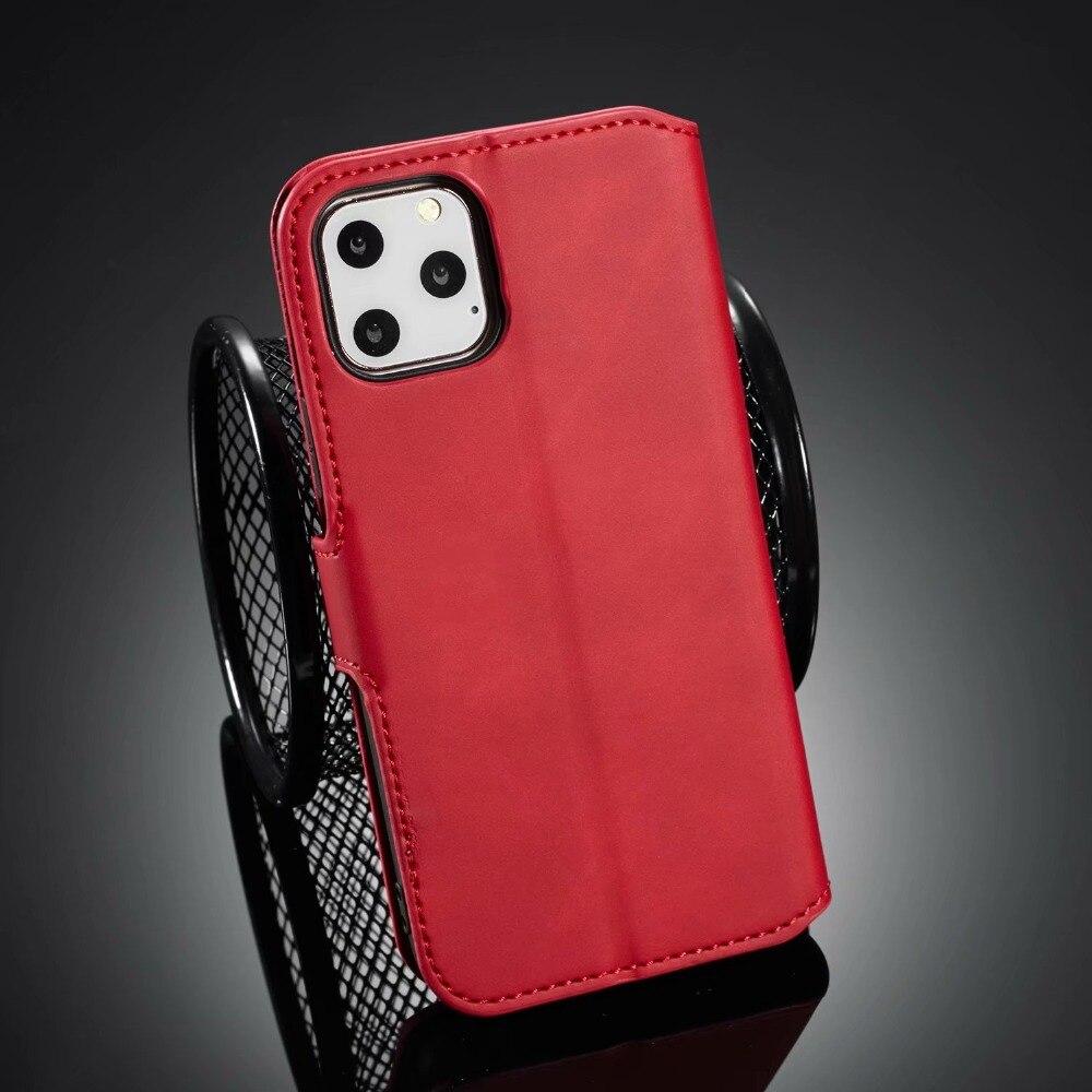 Premium Leather Flip Wallet Case for iPhone 11/11 Pro/11 Pro Max 14