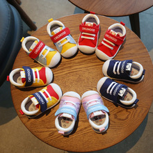 2020 Baby Toddler Shoes Boy Cotton Canvas Shoes