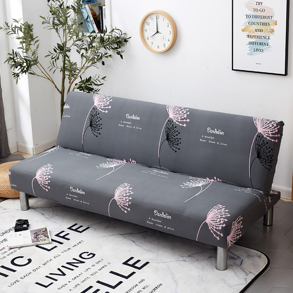 Thumbedding Armless Sofa Bed Cover