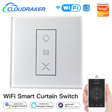 Tuya Smart Curtain Switch for Roller Shutter Blinds Works with Alexa Google Home Siri