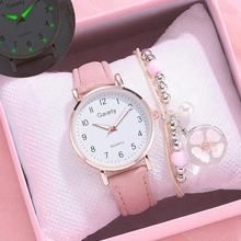Small Watch Dress Leather Strap Sports Vintage Mujer Reloj Casual Simple NEW