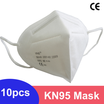 10/5/1pcs Breathable KN95 Mask ffp2 Anti Dust Masks Face Respirator Reusable Protective CE FFP2 Face Mouse KN95 Mask mascarilla