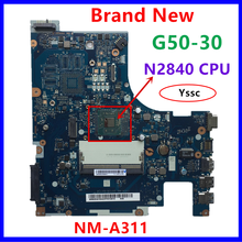 100% new NM A311 mainboard for Lenovo G50 30 laptop PC motherboard for intel n2820 n2830 n2840 CPU Use ddr3l low voltage memory
