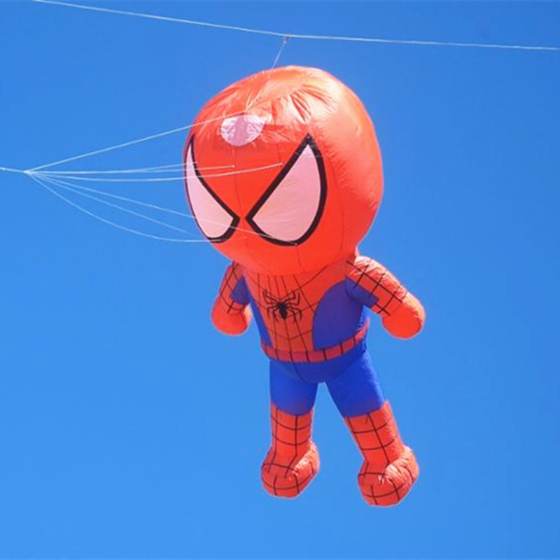 Free Shipping Large Soft Kite Fly Spiderman Kite Windsock Weifang Big Kite Reel Albatross Outdoor Sport For Adults Octopus Walk