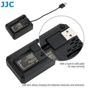 Image 3 - 후지 필름 NP 95 NP95 용 JJC USB 듀얼 배터리 충전기 후지 DB 90 배터리 후지 XF10 X100T X100S X100 대체 BC 65N