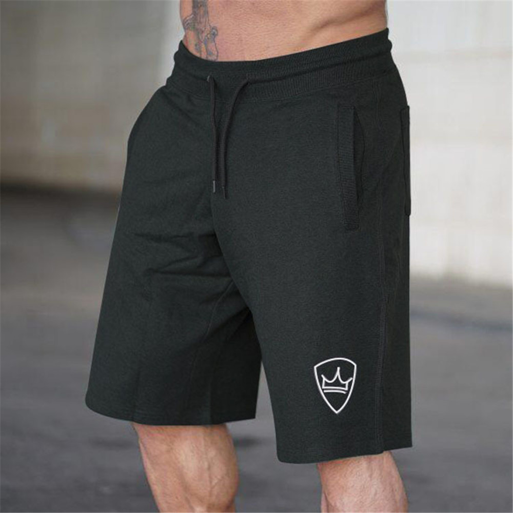 Summer Loose 5 Point Pants Casual Shorts Male Running Sports Basketball Training Pants Gyms Fitness Bodybuilding Jogger Shorts