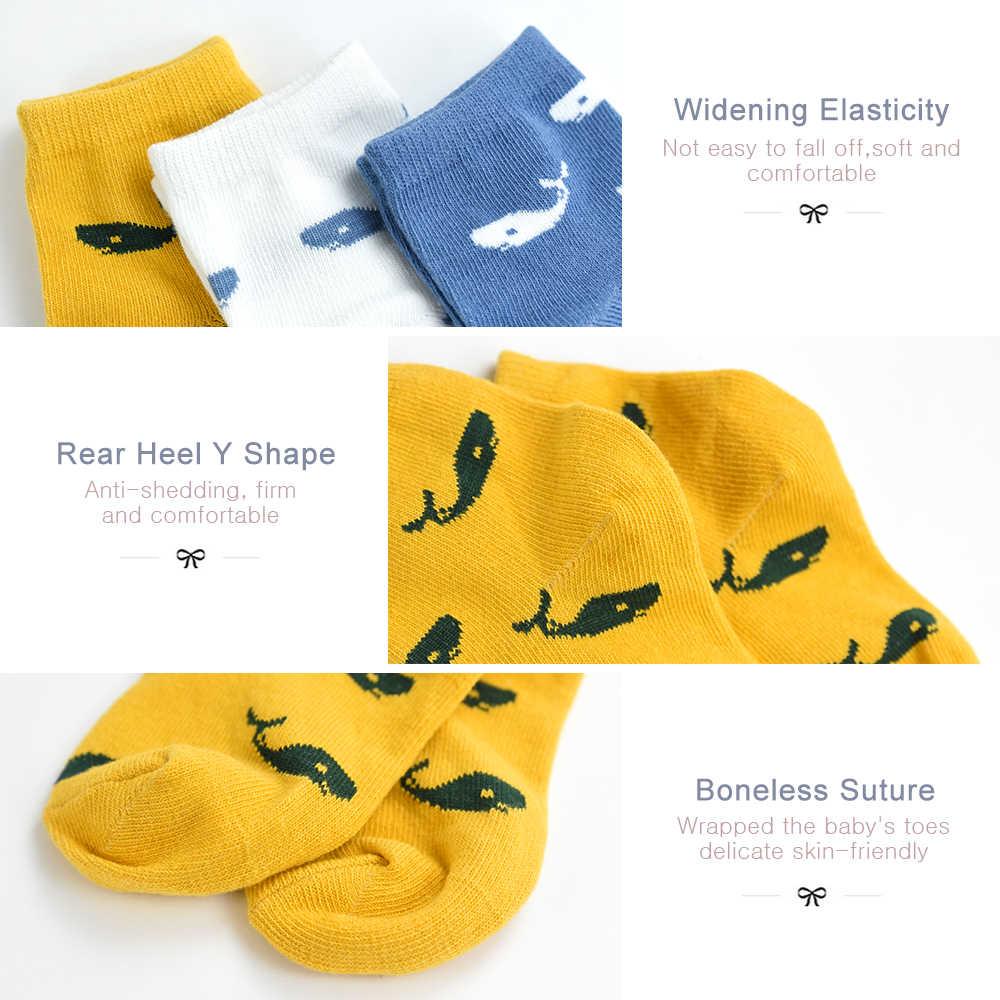 5 paire/lot nouveau coton doux garçons filles chaussettes mignon dessin animé motif enfants chaussettes pour bébé garçon fille 7 sortes Style adapté pour 1-10Y