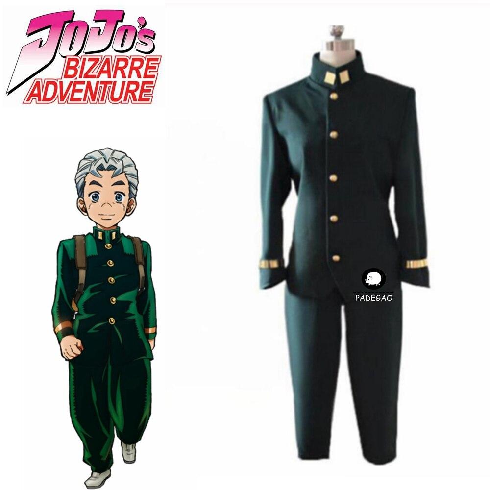 2019 JoJo's Bizarre Adventure Diamond Is Unbreakable Koichi Hirose Cosplay Costume