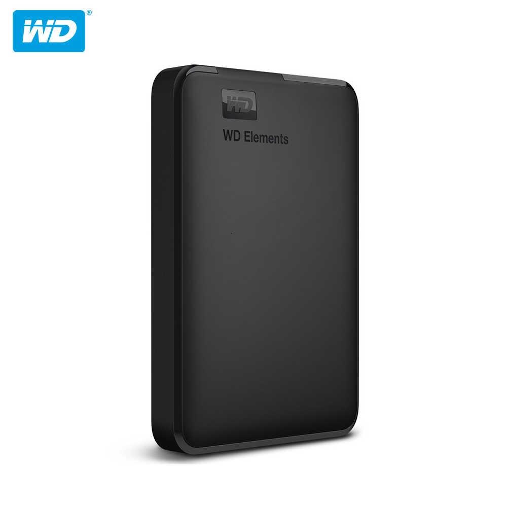 Оригинальный жесткий диск Western Digital WD внешний жесткий диск 2,5 дюйма жесткий диск 1 ТБ 2 ТБ 4 ТБ USB 3,0 элементы Портативный жесткий диск для портативных ПК