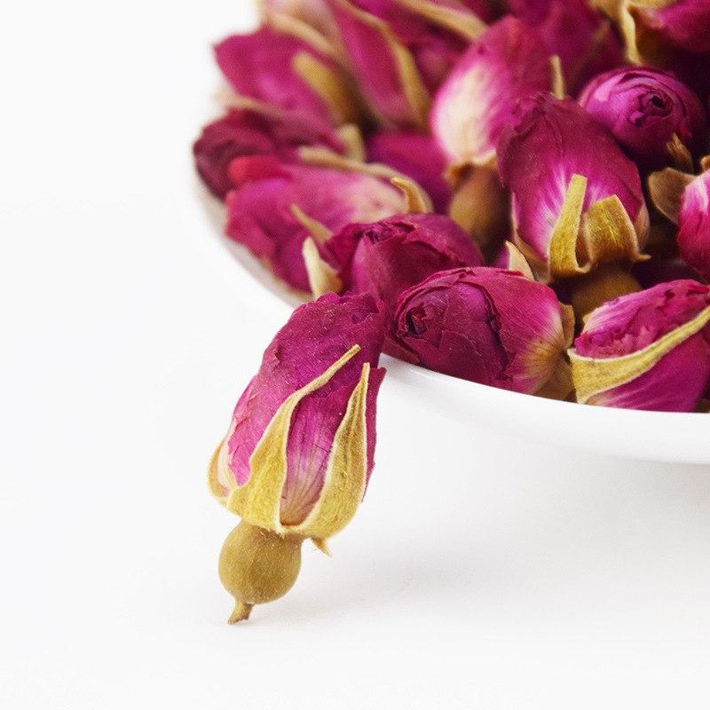 Rose Tea Dried Roses Pingyin Roses Edible Rose Tea Fresh Natural Buds Bulk 5