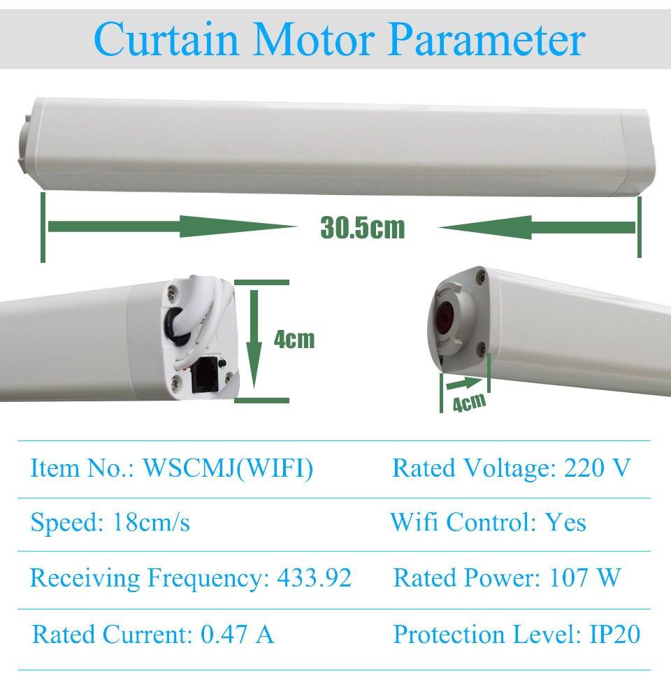 Cheap Sistema automático de controle de cortina