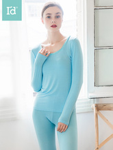 Winter Clothes for Women Lace Collar Sexy Comfortable Underwear Thermal Suit Ladies