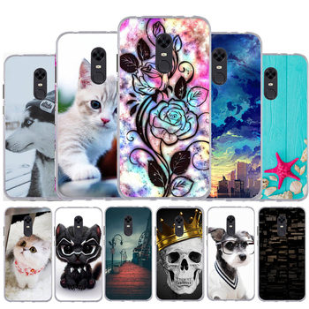 5.99 For Capa Xiaomi Redmi 5 Plus Case Silicone Back Cover for Funda Xiaomi Redmi 5 Plus TPU Soft Case Redmi Note 5 (Global) image