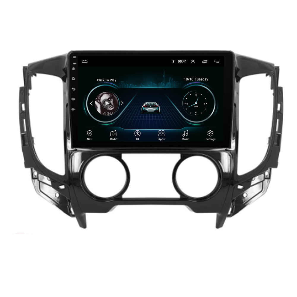 4G LTE Android 8.1 Voor Mitsubishi TRITON 2015 Auto A/C Multimedia Stereo Auto DVD Speler Navigatie GPS radio