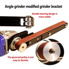 Angle Grinder Sander Sanding Belt Adapter Grinding Machine Woodworking Sander Belt Power Tool for Model 100 Angle Grinder