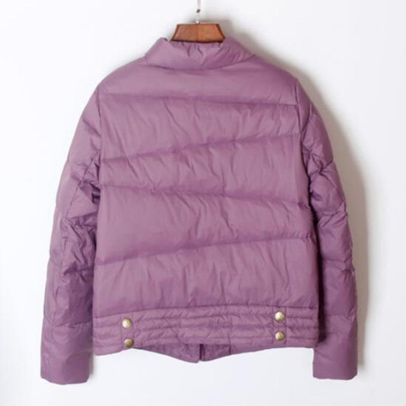 SEDUTMO Winter Ultra Light Duck Down Coat Women Short Oversize Jackets Slim Autumn Puffer Jacket Pocket Parkas ED862 4