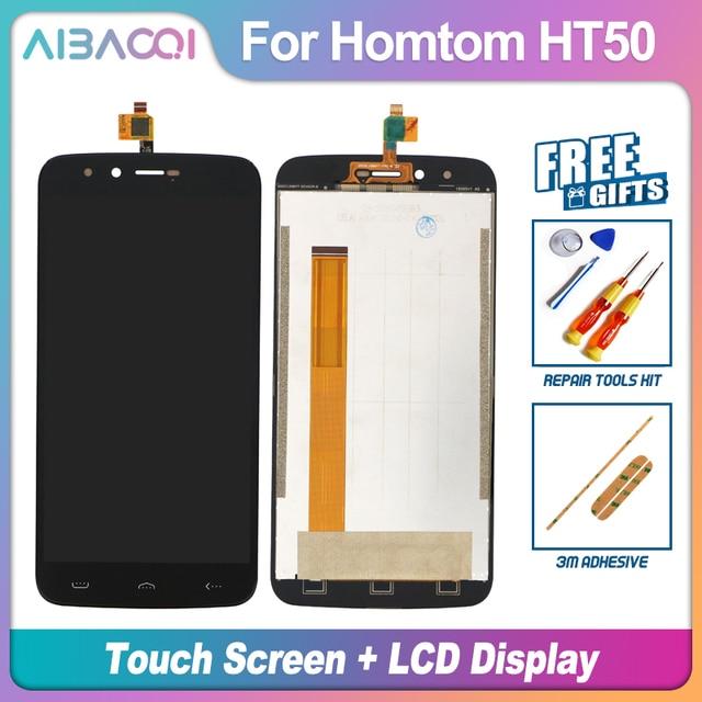 Aibaoqi 100% Bảo Hành Màn Hình Cảm Ứng 5.5 Inch + 1280X720 Màn Hình LCD Hiển Thị Hội Thay Thế Cho Homtom HT50