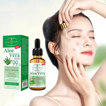 Esencia de cara Natural, suero de aloe, ácido hialurónico, antiarrugas, elimina el...