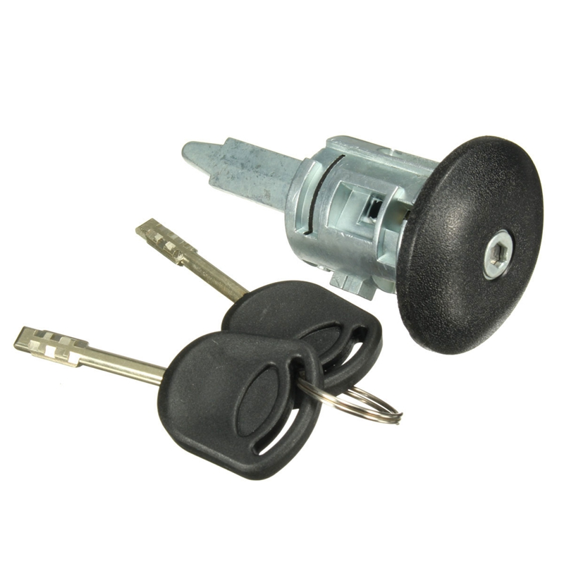Front Right Driver Side Door Lock Barrel With 2 Keys For Ford Transit MK6 00-06