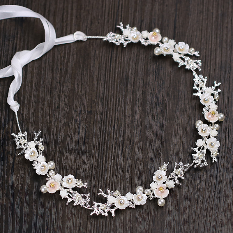 New Arrival Hot Handmade Crystal Wedding Headpiece Hair Vine Bridal Hair Accessorie Floral Bridal Headband Free Dropshipping