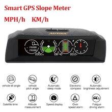 AUTOOL On-board Computer HUD Display Car GPS Speedometer Slo