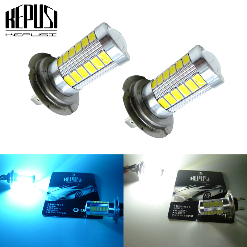 2x H7 LED Fog Light Bulbs Car H7 LED Driving Lamp Auto 12V 6000K White for Hyundai Azera 2006 2015 Genesis 2009 2014 Sonata in Car Fog Lamp from Automobiles Motorcycles