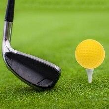 Желтый пена гольф мяч гольф тренировка мягкий пена мячи тренировка мяч