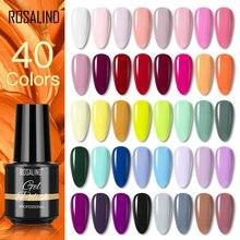 ROSALIND – vernis à ongles Gel, couleurs à paillettes, hybride, tout pour la manucure, besoin d'uv, Base primaire, Gellak, 7ML